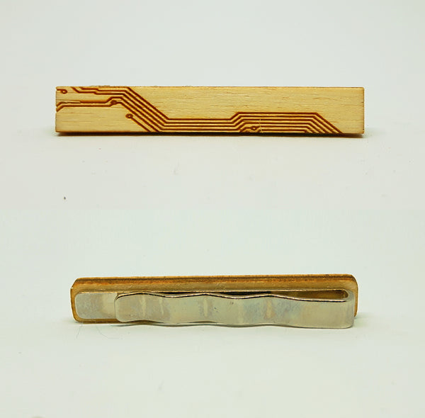 Circuit Wood Tie Bar