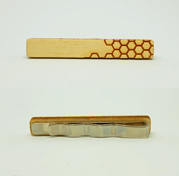 Honeycomb Wood Tie Bar