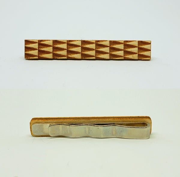 Triangle Wood Tie Bar