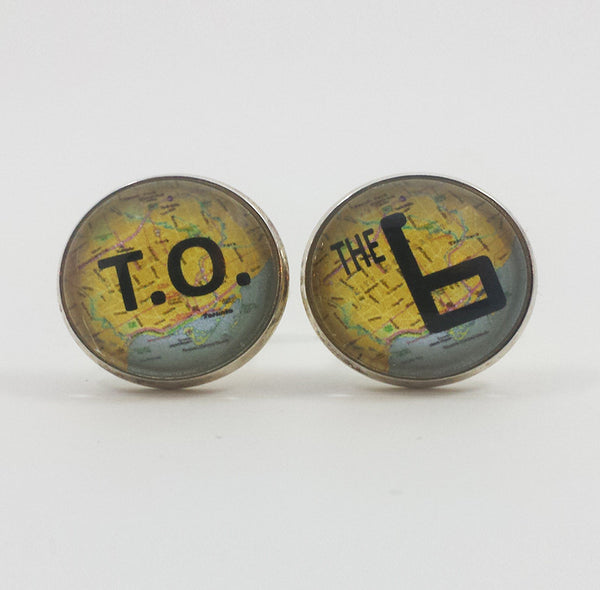The 6ix (Toronto) Cufflinks