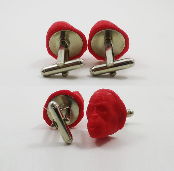 Orangutan Head Cufflinks