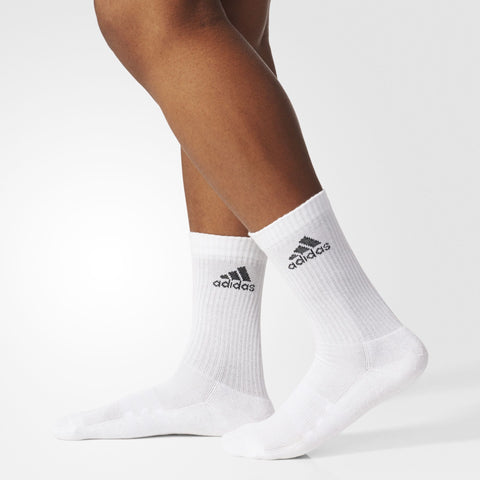 Adidas 3 Stripe Performance Ankle Half Cushioned 1 Pack