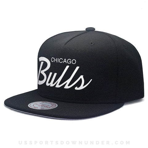89326b587be83 Chicago Bulls Relay Basic Script Snapback – Health and Leisure Apparel