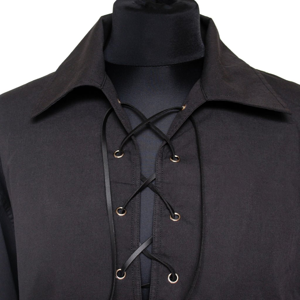 Ghillie shirt in black, cotton mix
