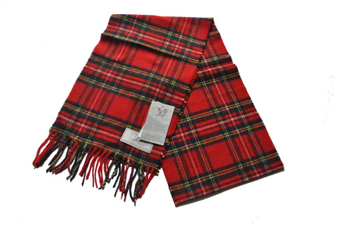 Tartan Scarves in Merino Wool