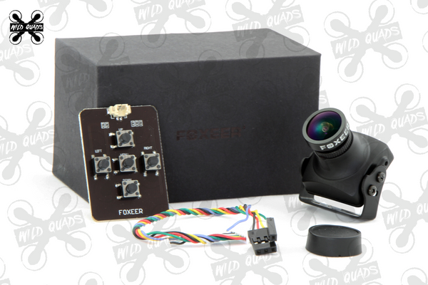 Foxeer Sony CCD V3 Arrow camera Built-in OSD Audio 5~40V