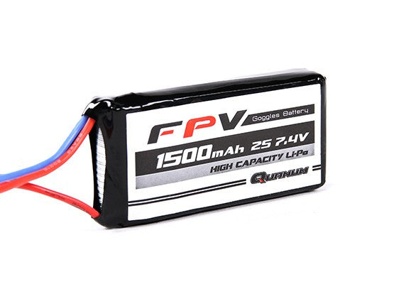 FPV Headset Battery 7.4V 1500mAh