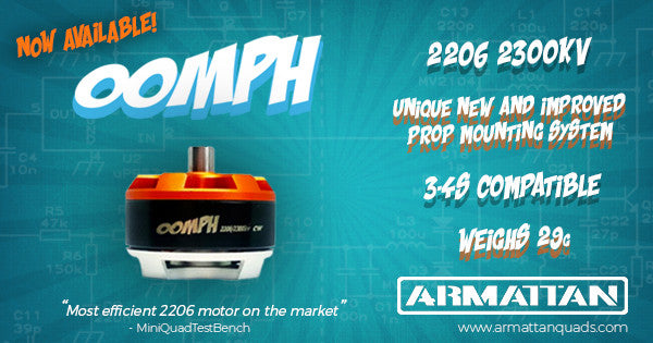 Armattan Oomph 2205/2550 Motor  CW and CCW
