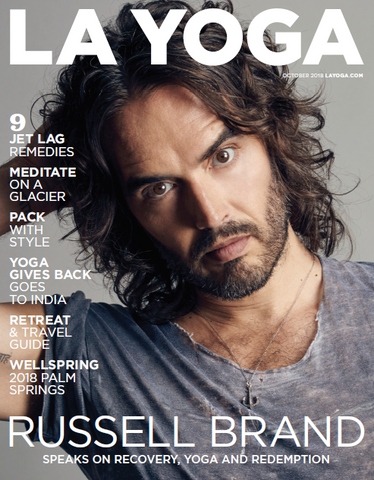 LA Yoga magazine featuring Love and Asana virtual yoga studio and boutique