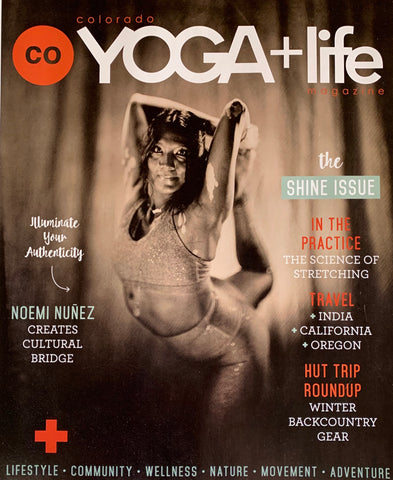 Colorado Yoga Magazine Shine edition featuring Love & Asana