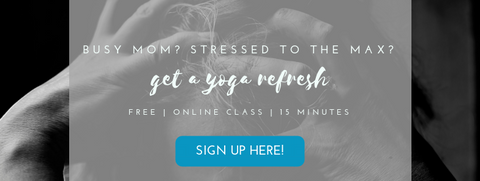 free yoga class video for busy moms