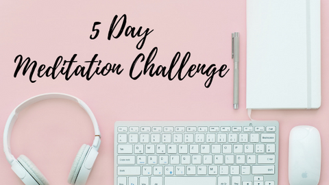 5 day meditation challenge with Tiffany Lord Love & Asana