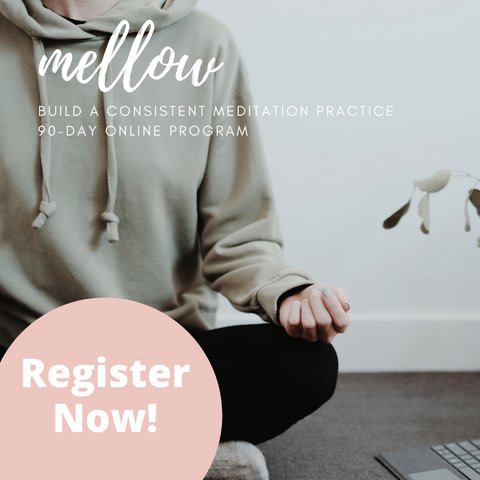 Mellow, 3-month online meditation program for stress relief and self-care