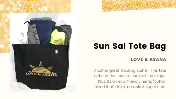 yoga tote bag holiday gift guide