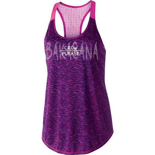 Crow Please Yoga Sport Tank FINAL SALE