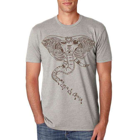 Winking Elephant Men's Shirt