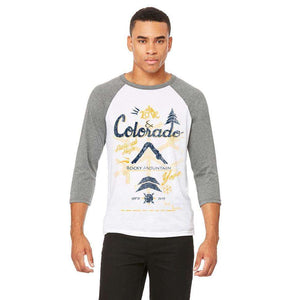 Colorado Love Baseball Tee
