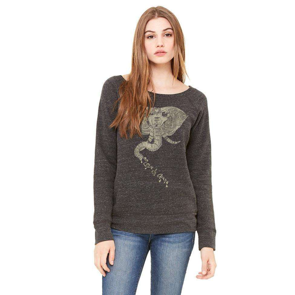 Winking Elephant Sweatshirt FINAL SALE