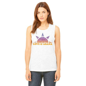 Sun Salutations Muscle Tank (SHIPS BY AUGUST 7)
