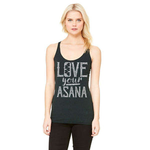 Love Your Asana Long Tank
