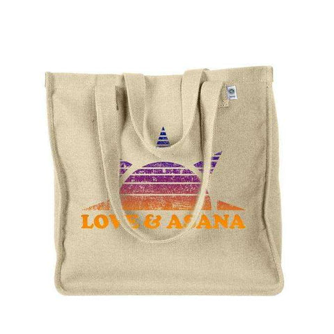 Love and Asana Yoga Tote