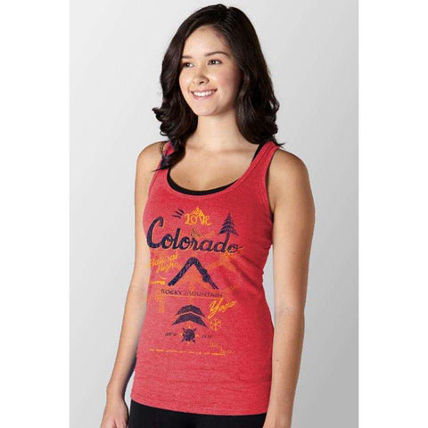 Love & Colorado Racerback Tank