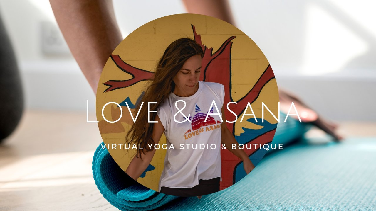 Love and asana yoga shirts with impact studio style for your home practice
