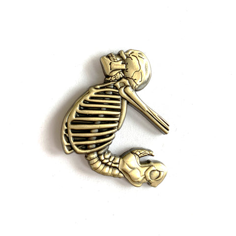 Bendy Spine - Lapel Pin