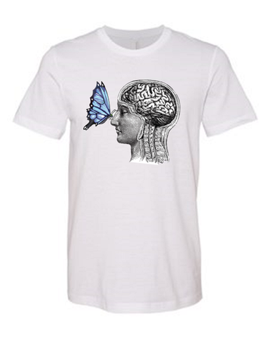 Butterfly Brain - T-shirt