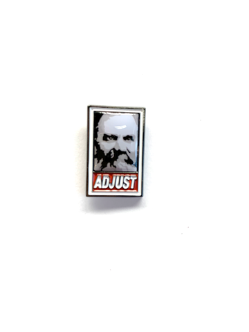 ADJUST - Lapel Pin