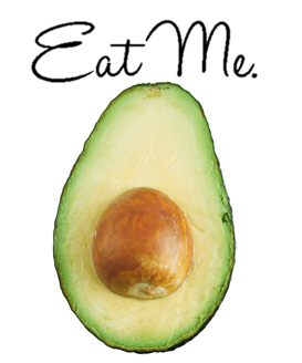 Eat Me Avocado - Sticker
