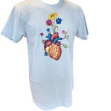 T-shirt - Heart Flower Pot