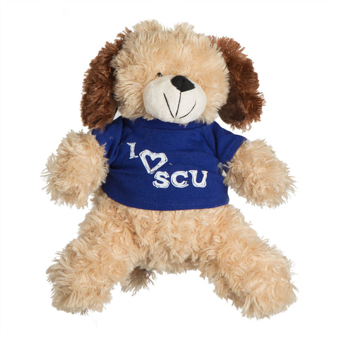 I Love SCU Dog Stuffed Toy