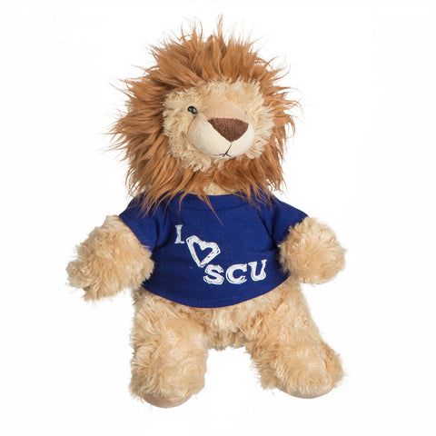 I Love SCU Stuffed Lion Toy