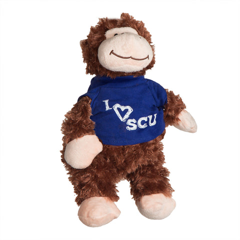 I Love SCU Monkey Stuffed Toy