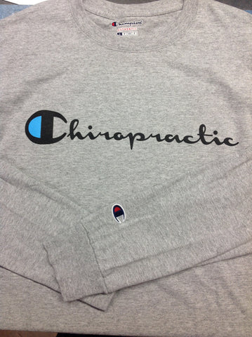 Chiropractic - Long Sleeve Champion