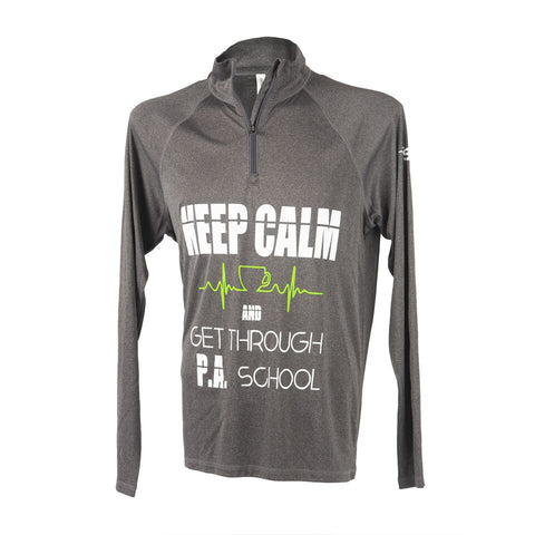 1/4 Zip Pullover - PA 'Keep Calm""