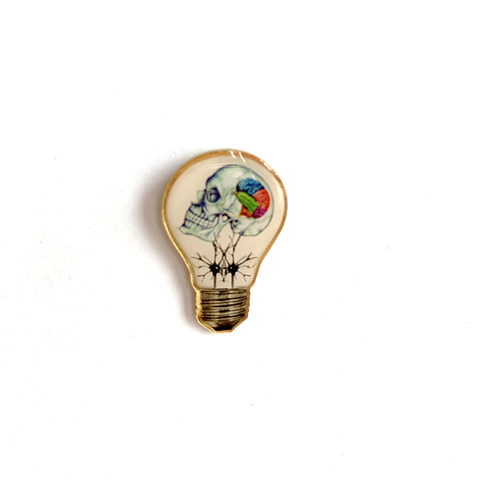 Lights On - Lapel Pin