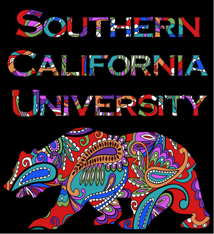 Paisley SCU Bear - Sticker