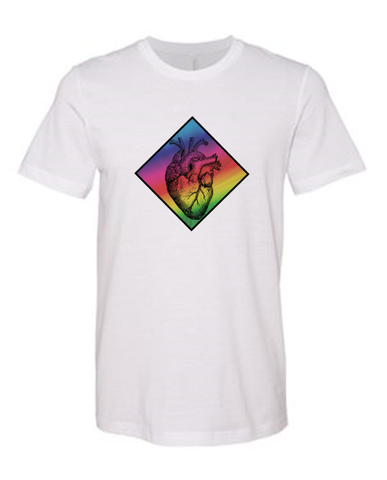 Rainbow Heart - T-shirt