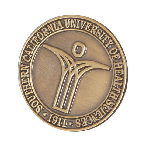 Brass SCU Lapel Pin