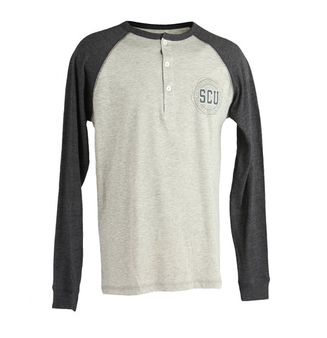 SCU Long Sleeve Mens Baseball T