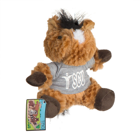SCU Horsey Stuffed Toy