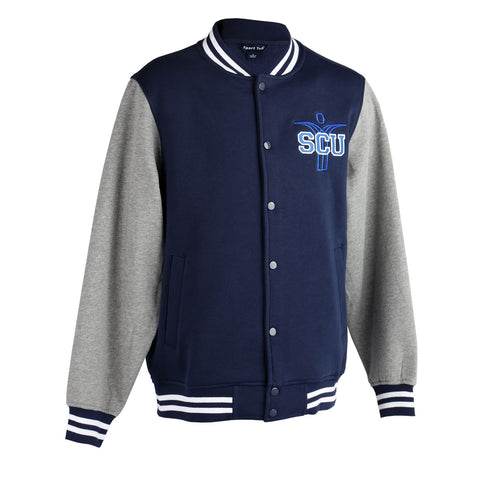 SCU Blue Letter Jacket
