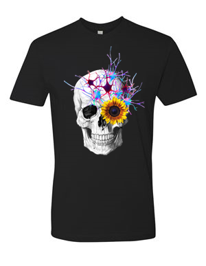 Skull Sunflower - Shirt