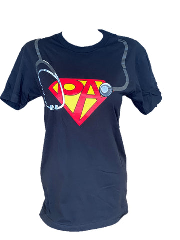 Super PA - Black  T-shirt