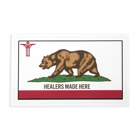SCU Cali Flag Healers Made Here