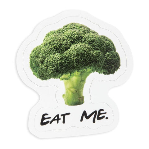 Eat Me Broccoli Sticker