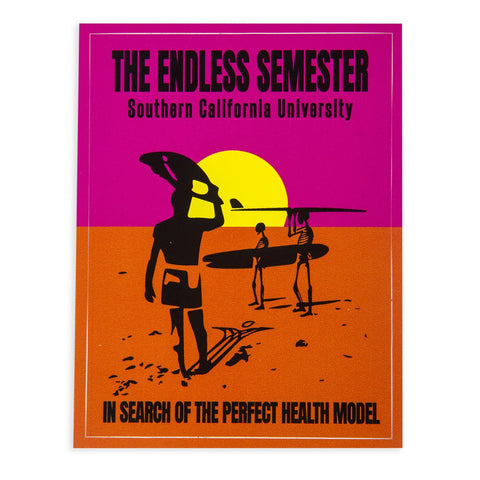 Endless Semester SCU Sticker