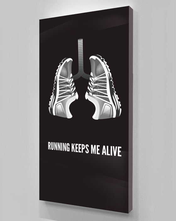 Running Keeps Me Alive
